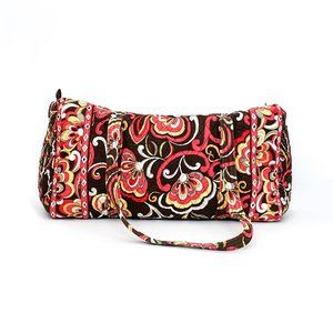 VERA BRADLEY puccini large quilted duffel bag